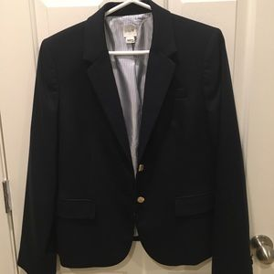 Great Fall Basic - J.Crew Classic Navy Blazer